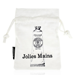 L'OCCITANE 歐舒丹 乳油木手霜束口袋(18x13cm)